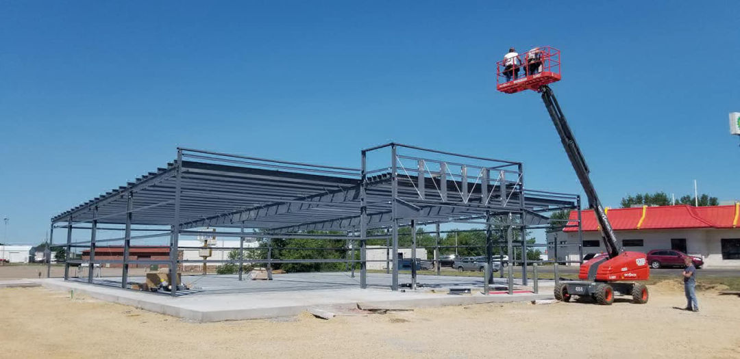 Steel Building Construction and Post Frame Erection Warsaw